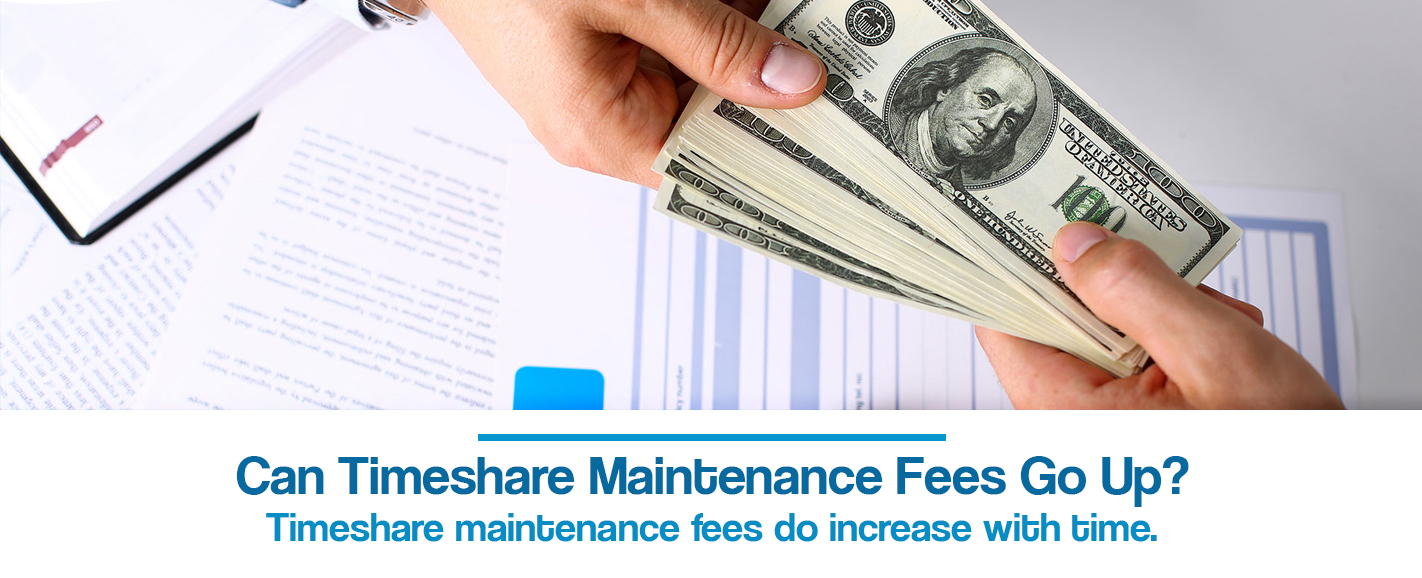 can timeshare maintenance fees go up