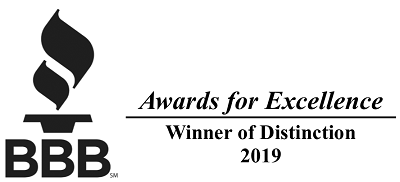 EZ EXit Now BBB Excellence of Distinction Award