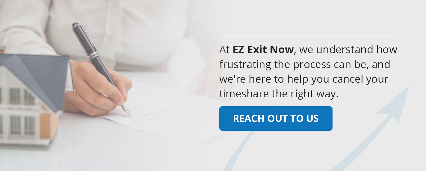 reach out to EZ Exit Now for timeshare scam help