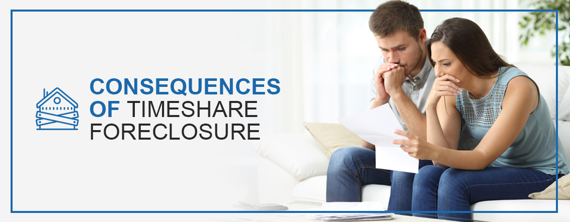 Consequences of Timeshare Foreclosure