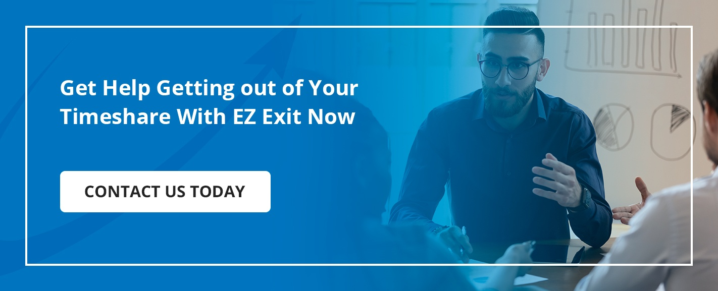 Get Help Getting out of Your Timeshare With EZ Exit Now - Contact Us Today (button)