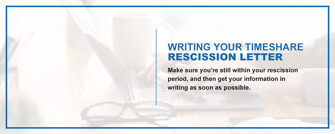 Make sure you're still within your rescission period, then get your information in writing as soon as possible.