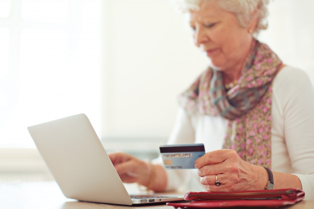 Checking credit score online